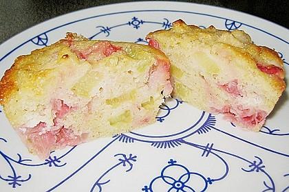 Erdbeer - Rhabarber - Muffins 3