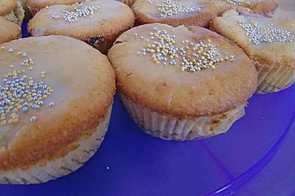 Erdbeer - Rhabarber - Muffins 13