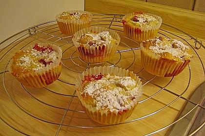 Erdbeer - Rhabarber - Muffins 16