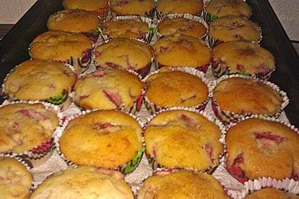 Erdbeer - Rhabarber - Muffins 18