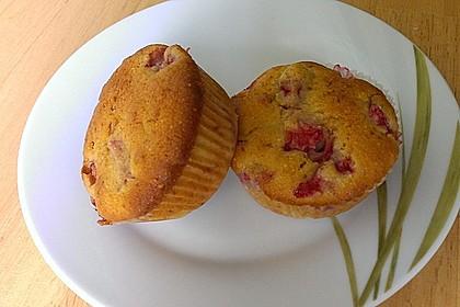 Erdbeer - Rhabarber - Muffins 5