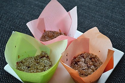 Erdbeer - Rhabarber - Muffins 15