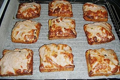 Scharfe Brotschnitten mit Brät 1