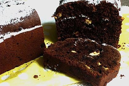 Buttermilch - Gugelhupf mit Pudding und weißer Schokolade 2