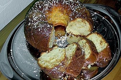 Buttermilch - Gugelhupf mit Pudding und weißer Schokolade 1