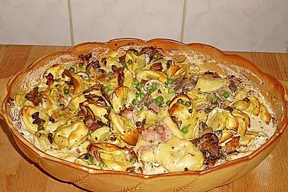 Tortellini - Pilz - Auflauf