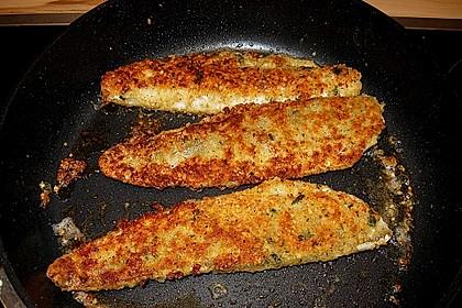 Zanderfilet mit Parmesan - Kräuterkruste 6