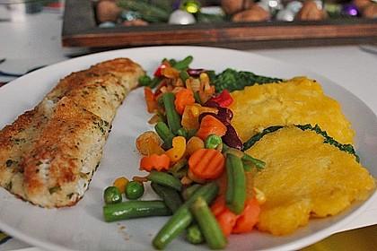 Zanderfilet mit Parmesan - Kräuterkruste 2