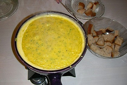 Kürbis - Käse - Fondue 8