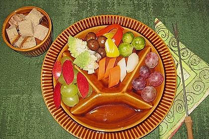 Kürbis - Käse - Fondue 3