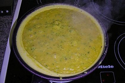Kürbis - Käse - Fondue 2