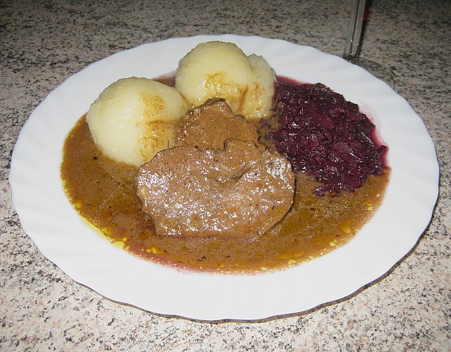 Fränkischer Rehbraten von Schwuuups | Chefkoch.de