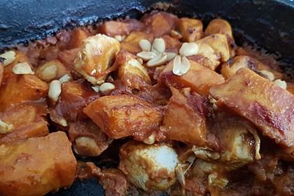 Süßkartoffel - Hähnchen - Auflauf 20