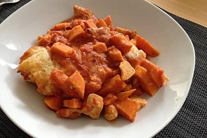 Süßkartoffel - Hähnchen - Auflauf 19