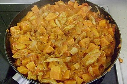 Süßkartoffel - Hähnchen - Auflauf 23