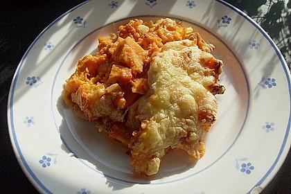 Süßkartoffel - Hähnchen - Auflauf 15