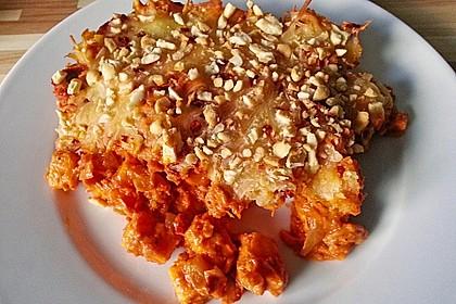 Süßkartoffel - Hähnchen - Auflauf 12