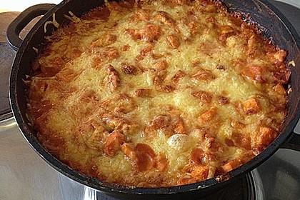 Süßkartoffel - Hähnchen - Auflauf 13