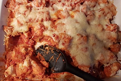 Süßkartoffel - Hähnchen - Auflauf 30