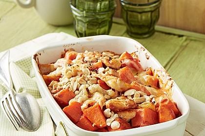Süßkartoffel - Hähnchen - Auflauf 2