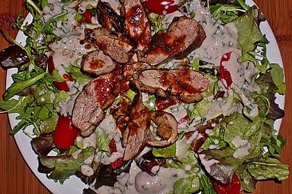 Gemischter Blattsalat mit Entenbrust a l´ Orange 2