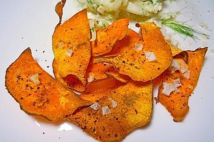 Süßkartoffel - Chips