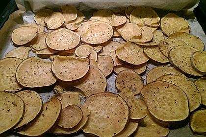 Süßkartoffel - Chips 11