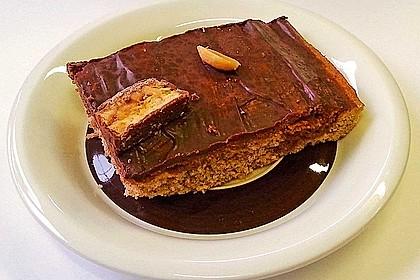 Snickers - Blechkuchen