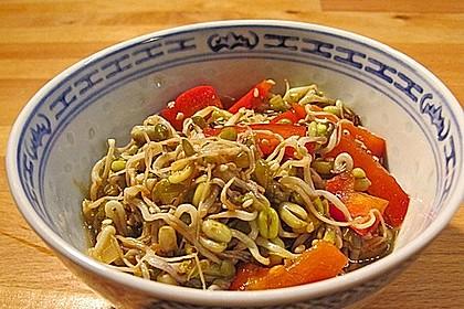Mungosprossen - Salat 1