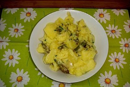 Spargel - Kartoffelsalat, sommerlich frisch 12