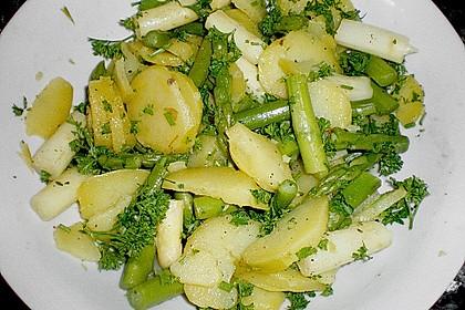 Spargel - Kartoffelsalat, sommerlich frisch 6