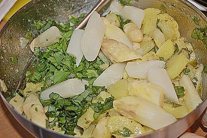 Spargel - Kartoffelsalat, sommerlich frisch 17