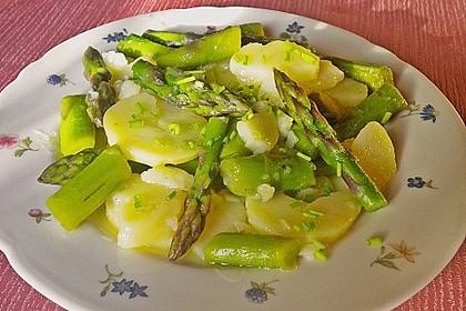 Spargel - Kartoffelsalat, sommerlich frisch 4