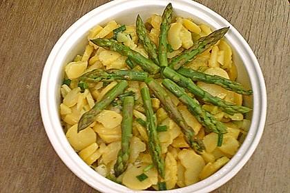 Spargel - Kartoffelsalat, sommerlich frisch 16