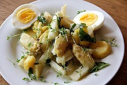 Spargel - Kartoffelsalat, sommerlich frisch 2