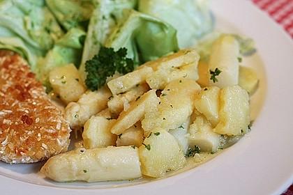 Spargel - Kartoffelsalat, sommerlich frisch 11
