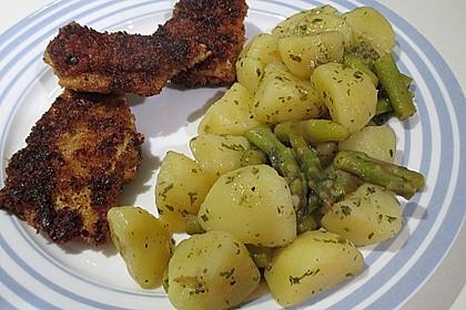 Spargel - Kartoffelsalat, sommerlich frisch 3