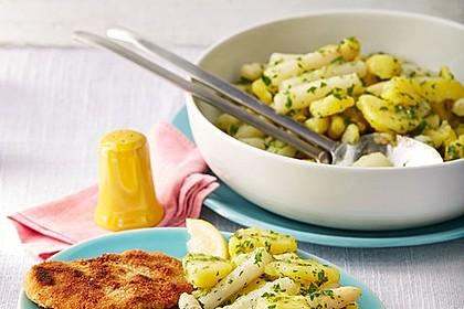 Spargel - Kartoffelsalat, sommerlich frisch
