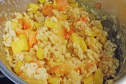 Aubergine mit Reisfüllung und Käsekruste 6