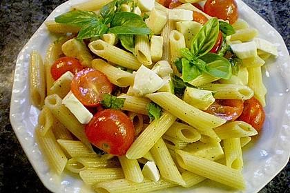 Einfacher Tomate - Mozzarella - Salat 7