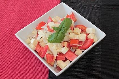 Einfacher Tomate - Mozzarella - Salat 14