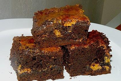 Dulce de leche - Brownies 12