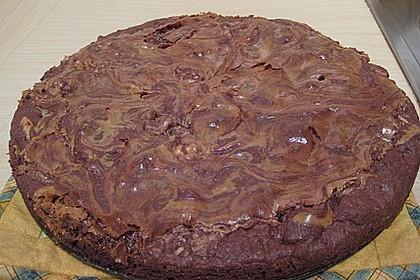 Dulce de leche - Brownies 11