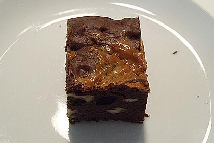 Dulce de leche - Brownies 4