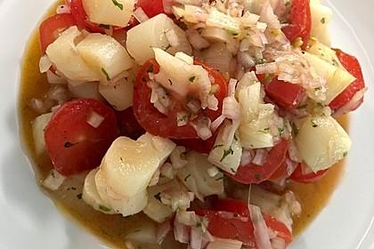 Spargel mit Tomatensalsa 3