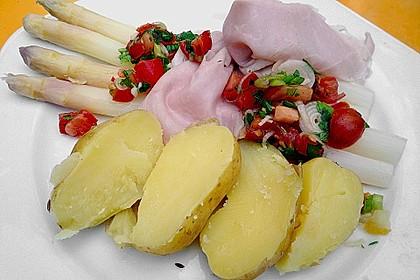Spargel mit Tomatensalsa 1
