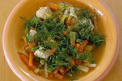 Fischsuppe mit Wurzelgemüse 1