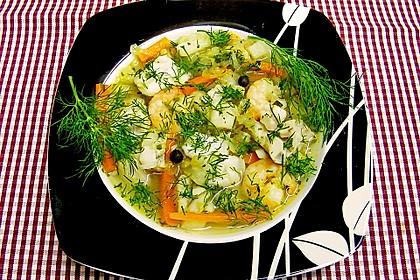 Fischsuppe mit Wurzelgemüse 3