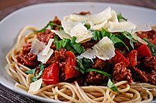 Spaghetti Bolognese à la Sarah