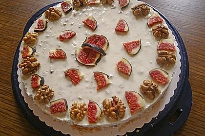Joghurt - Honig - Nuss - Torte 2